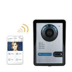 Mountainone Wireless WIFI Video Door Phone Clear Night Vision Waterproof Outdoor Camera 720P