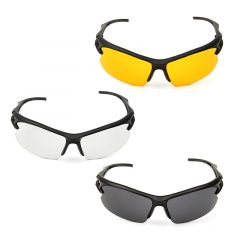 NEW 1Pc Three Color Safety Glasses Transparent Protective And Work Safety Glasses Wind And Dust Gogg