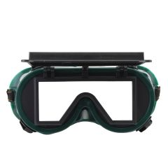 NEW Safurance Industrial Welding Goggles Head Clamshell Protection Glasses Mask Green Square Workpla
