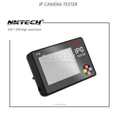 "NKTECH IP Camera CCTV Tester NK-795 Security Monitor Analog CVBS Cameras Test WiFi 4K 3.5"" TFT Touch"