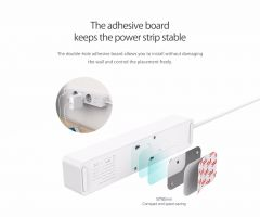 ORICO 3/5 AC+2 USB Power Strip Electronic Socket Home Office Surge Protector EU Plug hargers