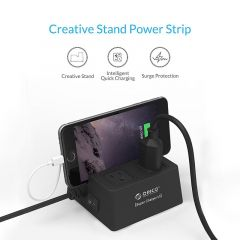 ORICO ODC-2A5U 40W 5 USB Charging Ports Power Strip and 2 AC Outlets Surge Protector With 1.5M Power