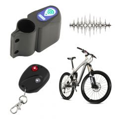 Professional Anti-theft Bike Lock Cycling Security Lock Remote Control Vibration Alarm Bicycle Vibra