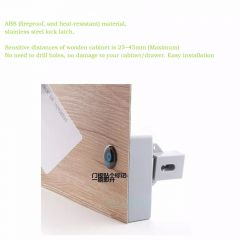 RFID Hidden Drawer Lock Furniture Desk Cabinet Locker Lock Safety Smart Home Door Cupboard Childproo