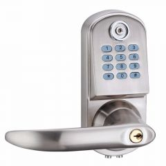 Smart Electronic Keyless Deadbolt Door Lock Unlock with Code + TM Card and Mechanical Key Right or L