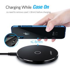 Ugreen Wireless Charger for iPhone X 8 Plus 10W Wireless Charging for Samsung Galaxy S8 S9 S7 Edge Q