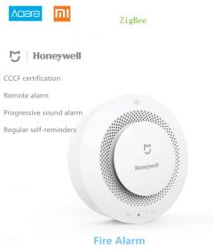 Xiaomi Mijia Honeywell Fire Alarm Detector, Aqara Zigbee Remote Control Audible And Visual Alarm Not