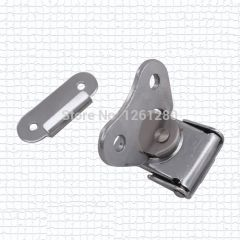 free shipping metal hasp  Butterfly lock Baylor lock toolbox buckle air box  hasp woodenbox clasp fa