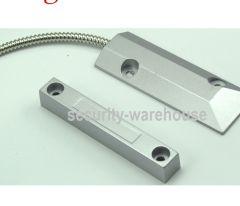 Wired Metal Door Sensor Heavy Duty for Intruder Alarm