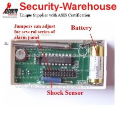Wireless Shock Vibration Sensor Detector for GSM Alarm